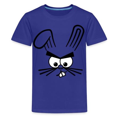 Angry Bunny - Rabbit Shirt - Kids' Premium T-Shirt