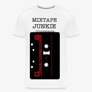 MIXTAPE JUNKIE - Men's Premium T-Shirt