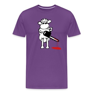 Chainsaw sheep - Men's Premium T-Shirt