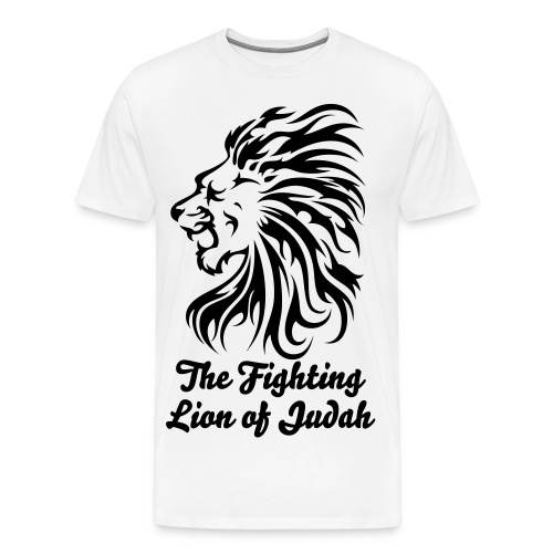 Fightin Lion Tee - Men's Premium T-Shirt