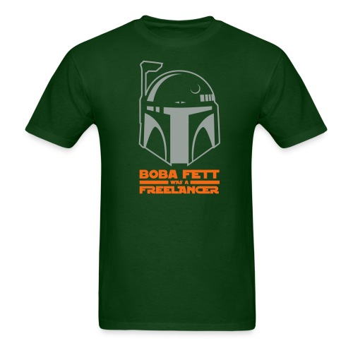 Boba Fett Was A Freelancer - Men's T-Shirt