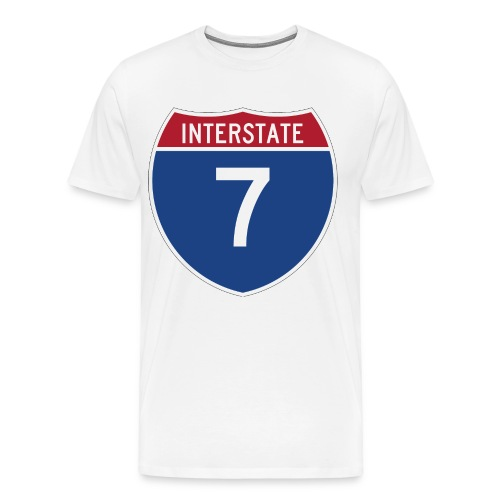 Men's 7 Road - Men's Premium T-Shirt