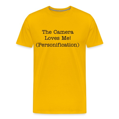 Figuative Language-Personification - Men's Premium T-Shirt