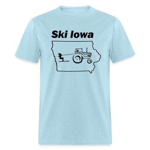 Ski Iowa - Men's T-Shirt