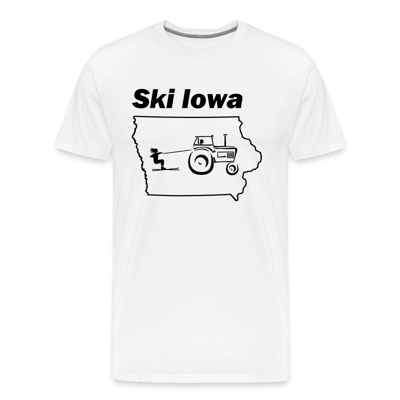 Ski Iowa - Men's Premium T-Shirt