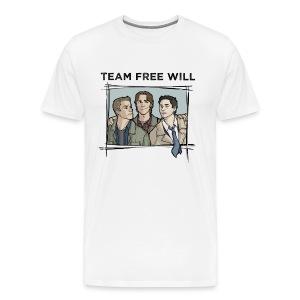 Team Free Will (DESIGN BY STEPHANIE) - Men's Premium T-Shirt
