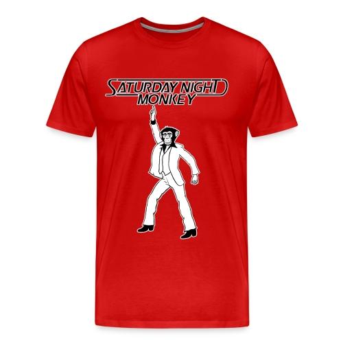 SATURDAY NIGHT MONKEY - Men's Premium T-Shirt