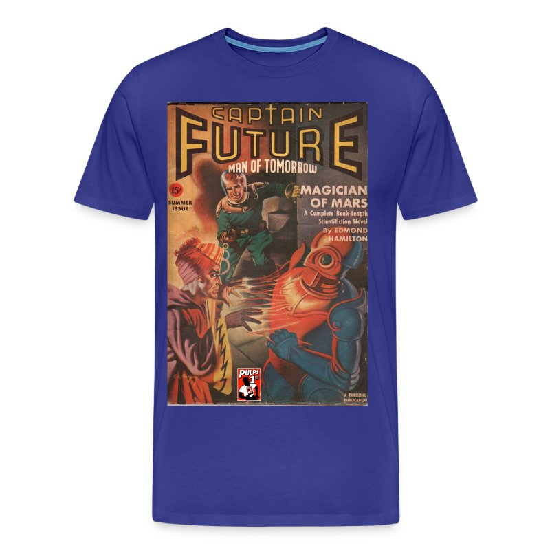 Captain Future  Sum 1041 3/4XL - Men's Premium T-Shirt