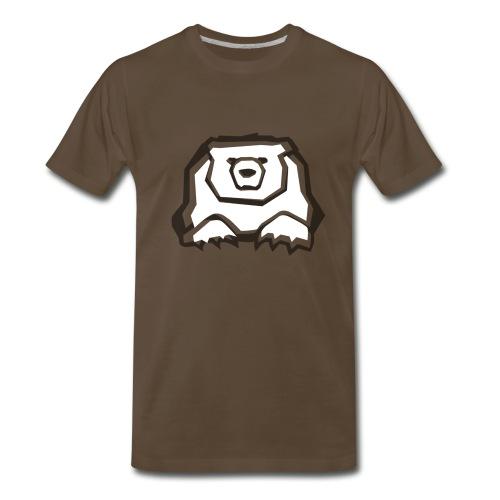 T-Shirt Ourse Noire seulement - Men's Premium T-Shirt