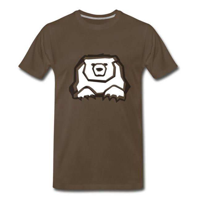 T-Shirt Ourse Noire seulement