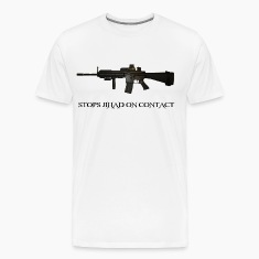 Stops Jihad on Contact M4 T-Shirts