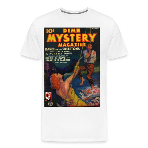 Dime Mystery Oct 1933 3/4XL - Men's Premium T-Shirt