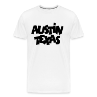 T-Shirts ~ Men's Premium T-Shirt ~ Austin Texas Plus Size Men's T-Shirt