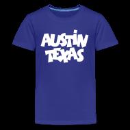 Kids' Shirts ~ Kids' Premium T-Shirt ~ Austin Texas Kid's T-Shirt