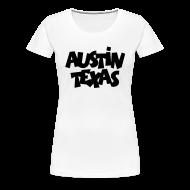 Women's T-Shirts ~ Women's Premium T-Shirt ~ Austin Texas Plus Size Women's T-Shirt