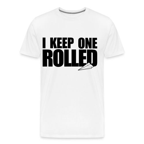 I Keep One Rolled - $WAG MERCH - Men's Premium T-Shirt