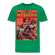 T-Shirts ~ Men's Premium T-Shirt ~ Star Western Dec 1934 3/4XL