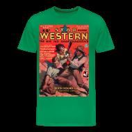 T-Shirts ~ Men's Premium T-Shirt ~ Star Western Dec 1934 3/4XL