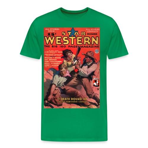 Star Western Dec 1934 3/4XL - Men's Premium T-Shirt