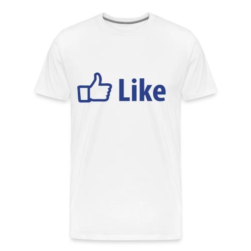 like it! - T-shirt premium pour hommes