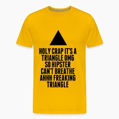 Holy Crap It's A Triangle T-Shirt