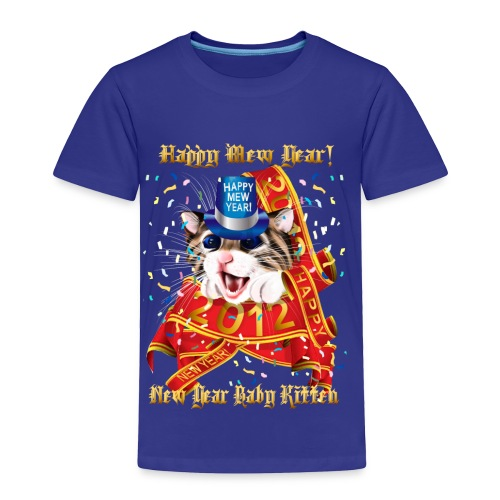 Happy New (Mew) Year 2012 - Toddler Premium T-Shirt