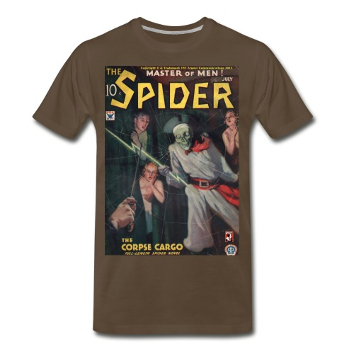 The Spider July 1934 - Men's Premium T-Shirt