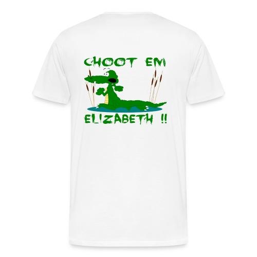 Choot Em Elizabeth - Men's Premium T-Shirt