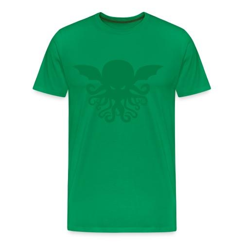 Cthulhu Men's Heavyweight Tee - Men's Premium T-Shirt