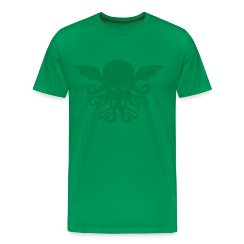 Cthulhu Men's Heavyweight Tee - Men's Premium T-Shirt