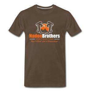 Nadon Brothers Contracting - Men's Premium T-Shirt