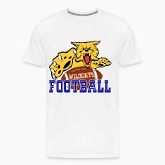 CENTRAL MOUNTAIN HIGH SCHOOL  WILDCATS FOOTBALL T-Shirts