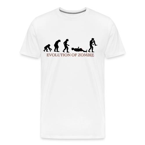 Zombie Evolution - Men's Premium T-Shirt