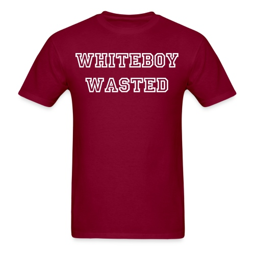 whiteboy wasted - Men's T-Shirt