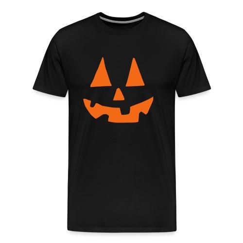 Pumpkin Face - Men's Premium T-Shirt