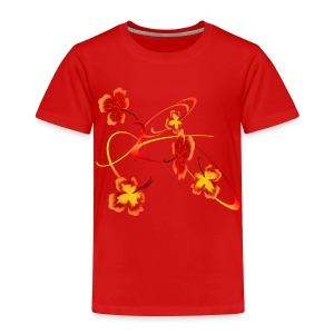 A Fiery Wild Autumn Ride - Toddler Premium T-Shirt