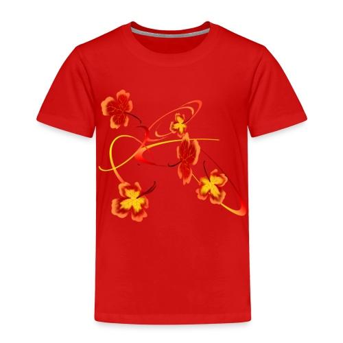 A Fiery Wild Autumn Ride - Toddler Premium T-Shirt