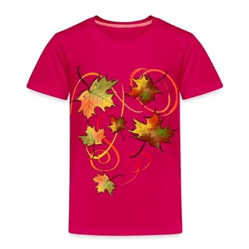 Racing The Autumn Wind - Toddler Premium T-Shirt