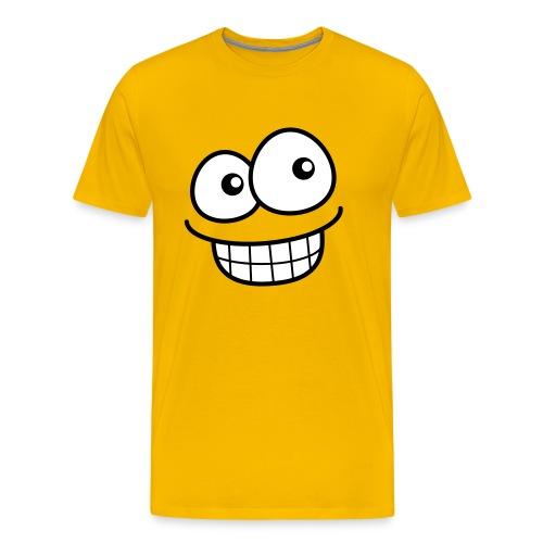 Grin Face - Men's Premium T-Shirt