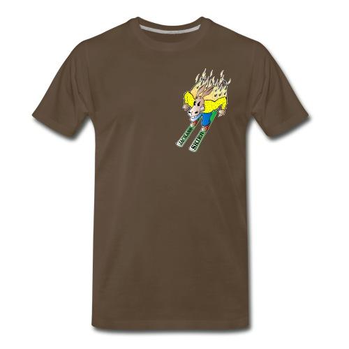 The Jackass Skier Tee - Men's Premium T-Shirt