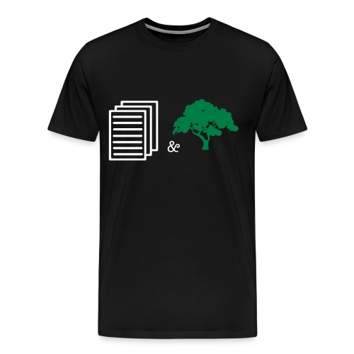 paper and trees - Men's Premium T-Shirt