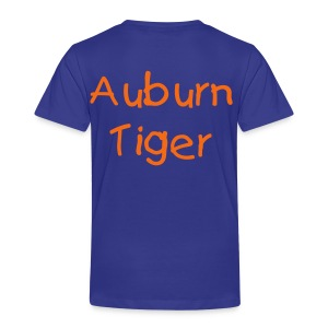 Future Auburn Tiger Toddler Tee - Toddler Premium T-Shirt