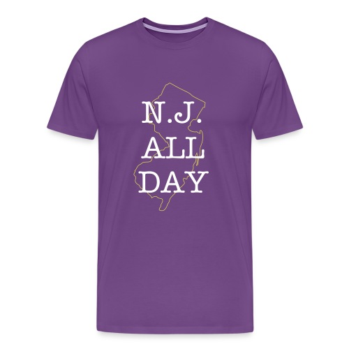 NJ All Day - Men's Premium T-Shirt