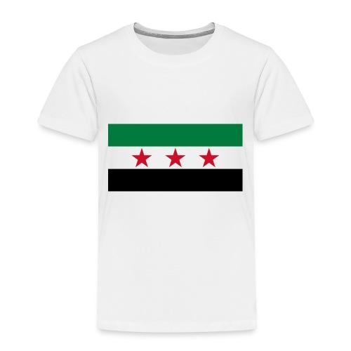 Syria Flag (pre-1963) - Toddler Premium T-Shirt
