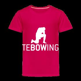 Toddler Pink Tebowing ~ 1858
