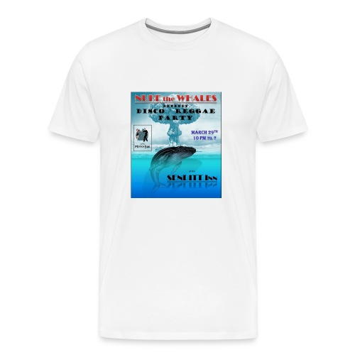Nuke the Whales - Men's Premium T-Shirt