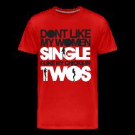 T-Shirts ~ Men's Premium T-Shirt ~ Chicks in Two
