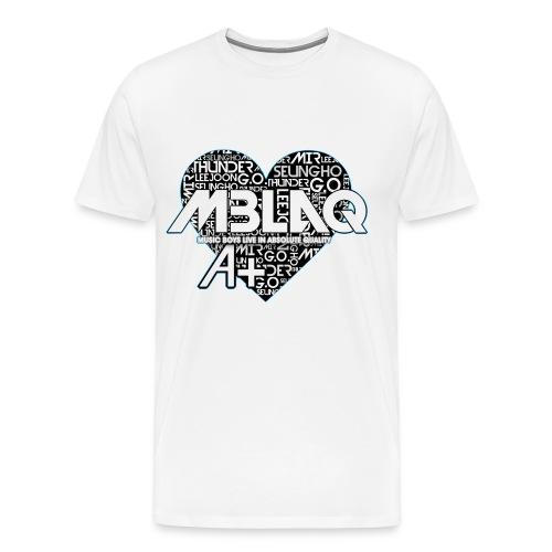 MBLAQ PLUS A - Men's Premium T-Shirt