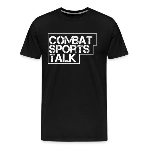 Combat Sports Talk basic-T - Men's Premium T-Shirt
