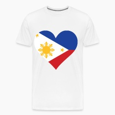 Heart Philippines (dd)++ T-Shirts
